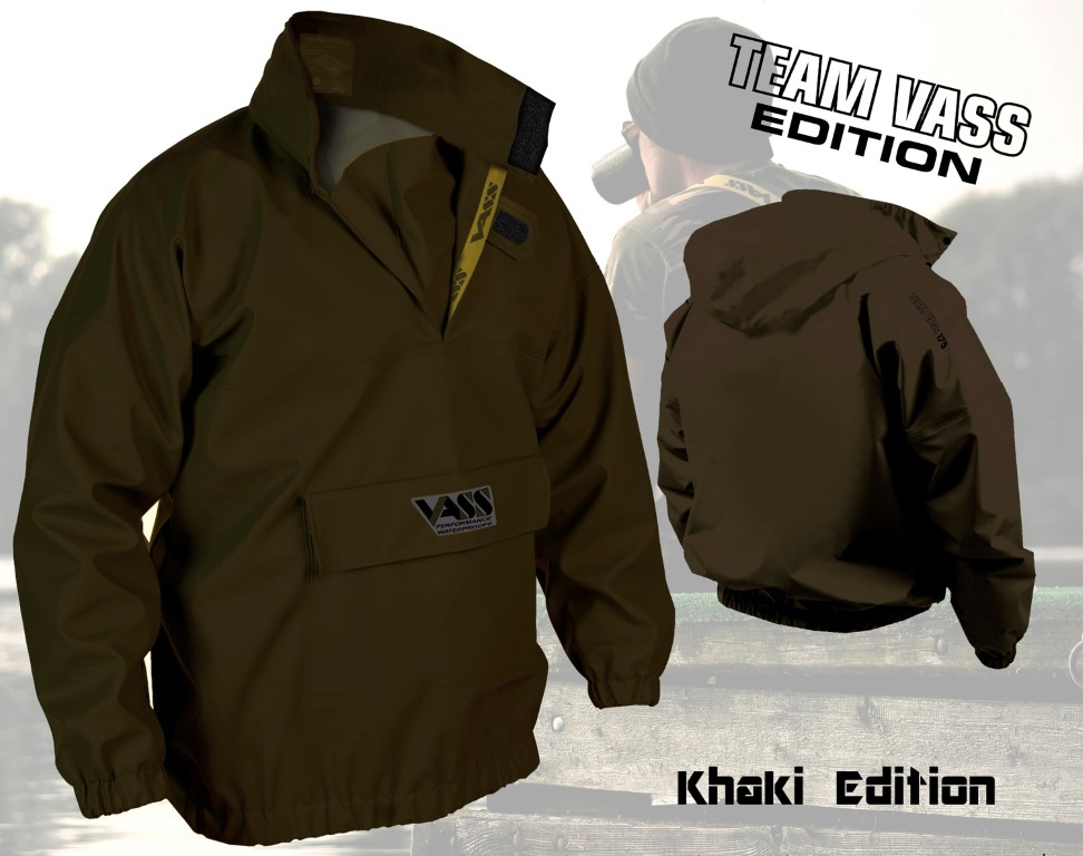 Vass – Tex Khaki Edition Breathable Waterproof Smock