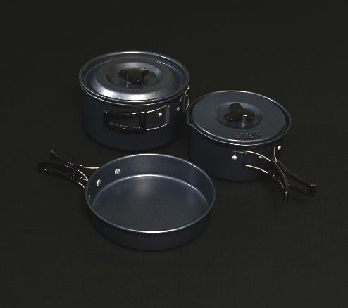 Trakker Armo 3piece Cookware Set