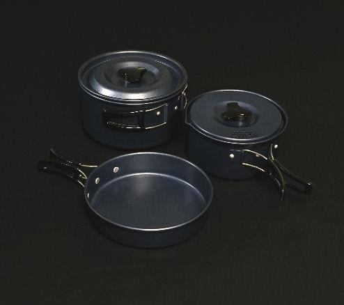 Trakker Armo 3piece Cookware Set