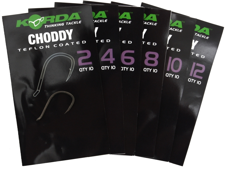 Korda Choddy Hooks (Barbed)