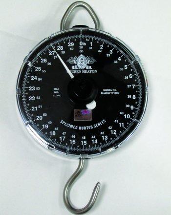 Reuben Heaton Specimen 60lbs-1oz Scales
