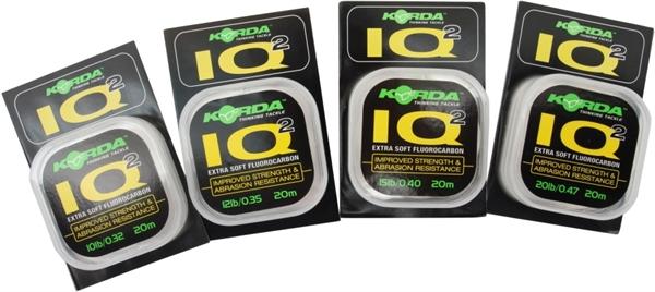 Korda IQ Extra Soft Flourocarbon (20m)