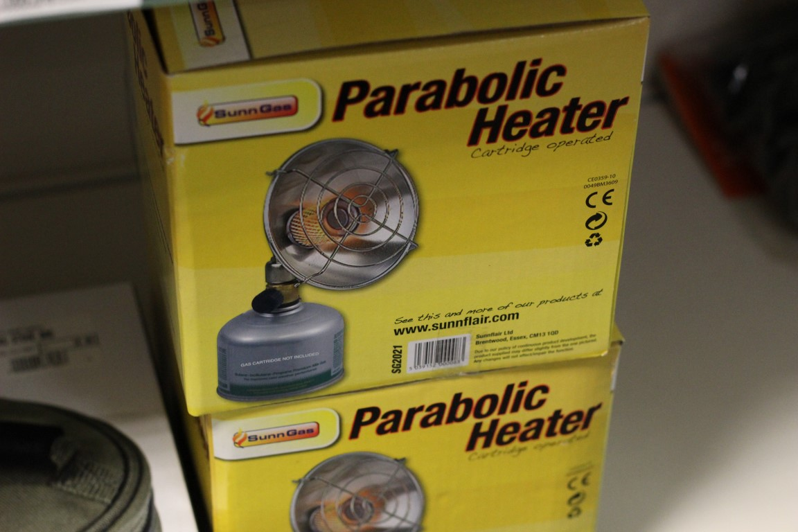 Sunn Gas Parabolic Heater