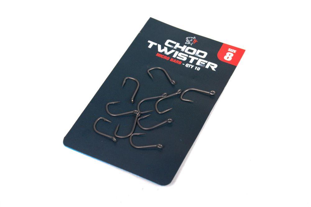 Nash Chod Twister Hooks Barbed