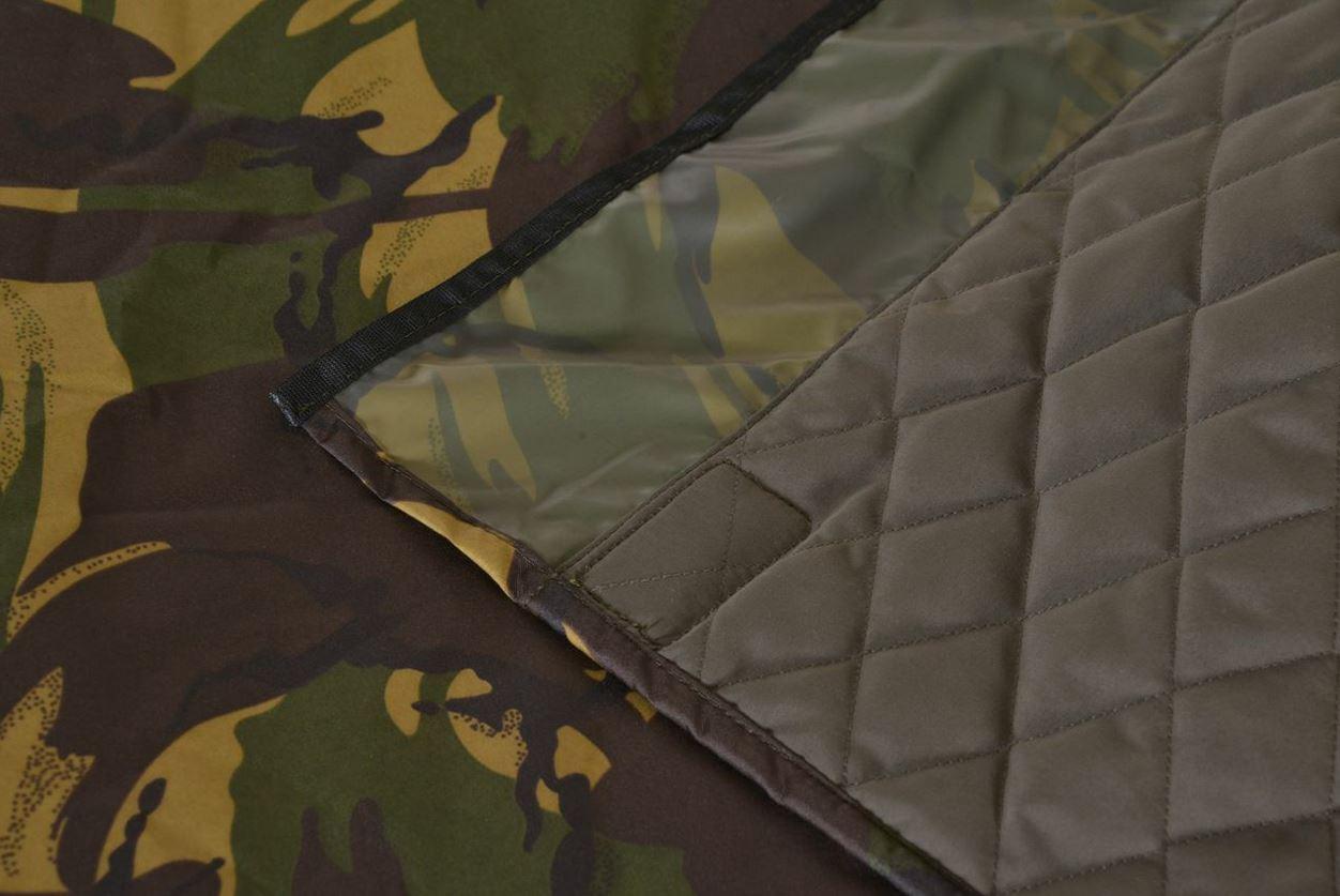 Aqua Bedchair Cover Camo