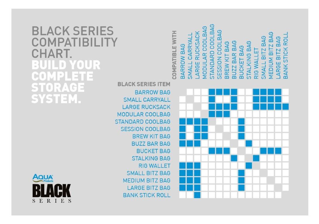 Aqua Black Series Large Rucksack
