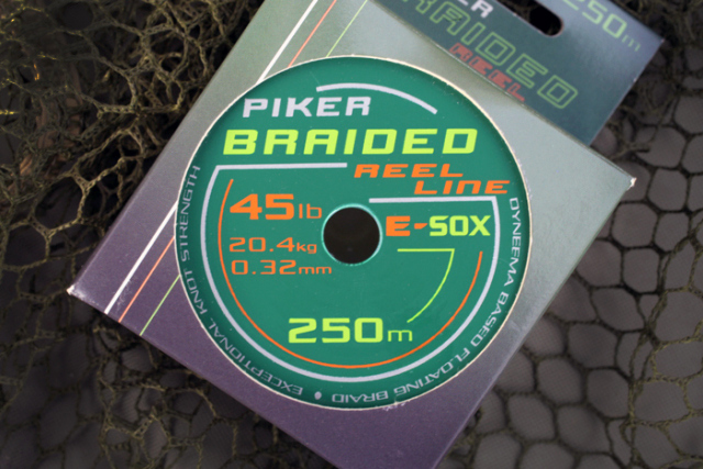 E-SOX Piker Braided Reel Lines