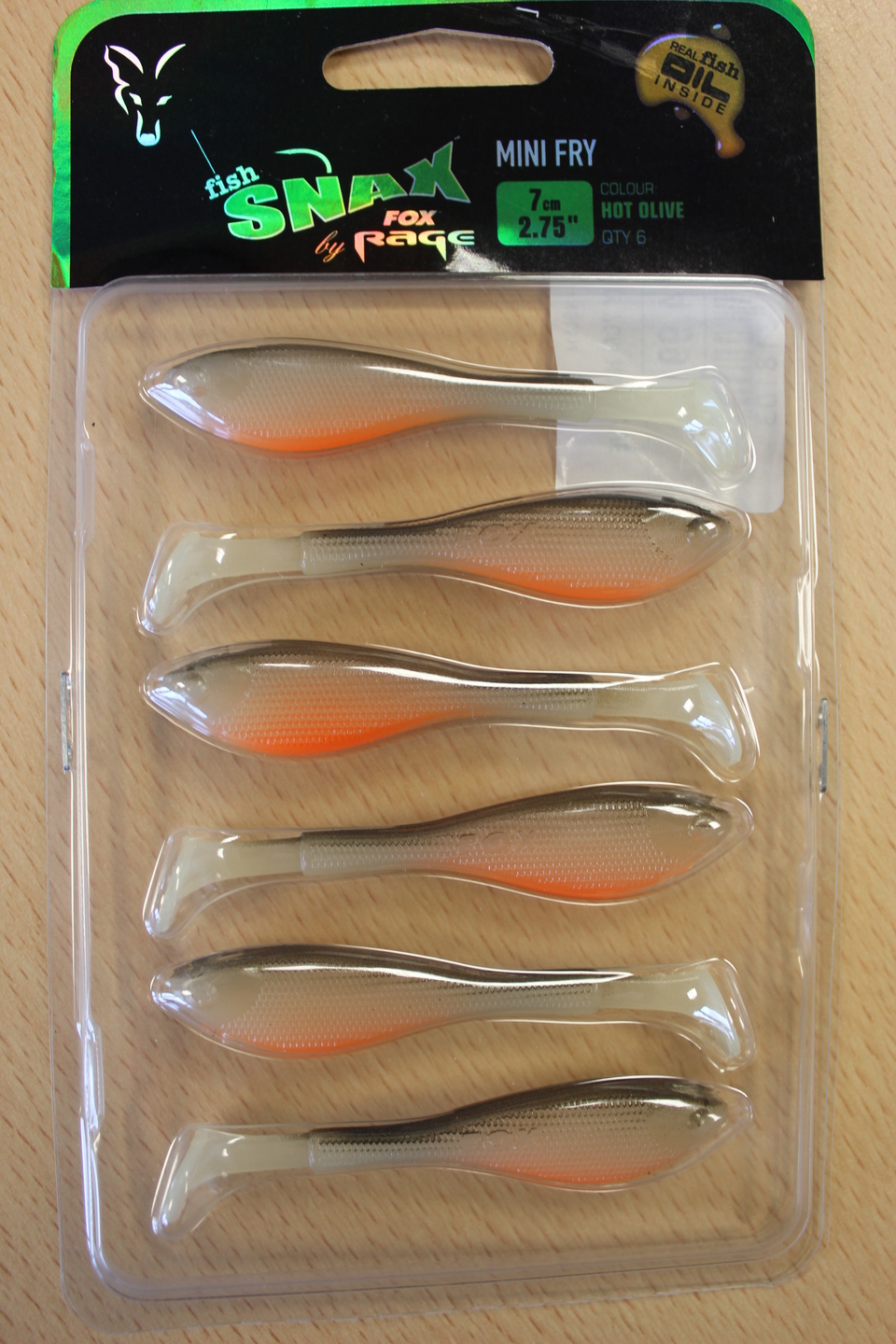 Fox Rage Fish Snax Mini Fry Sofbaits