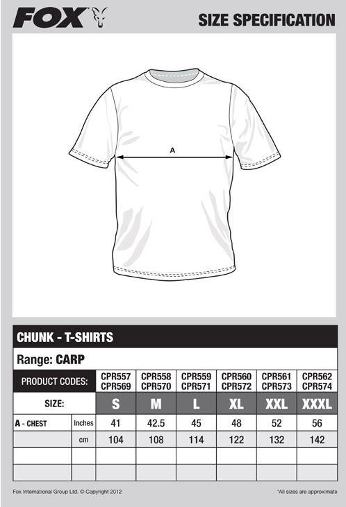 Fox Chunk T Shirts
