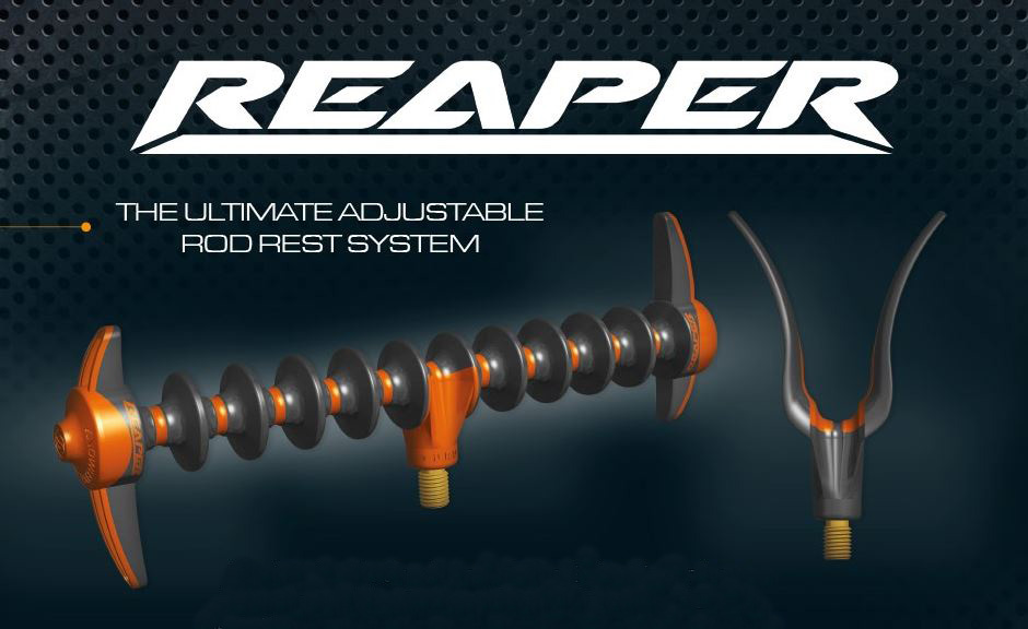 Guru Reaper Feeder Rod Rest Front Rear