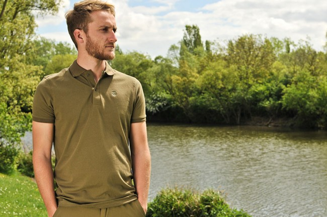 Korda Polo Shirts Black / Olive Green