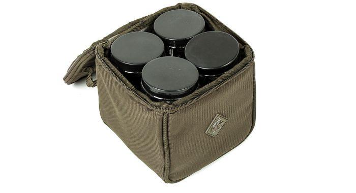 Nash Hookbait Pouch (Including Pots)