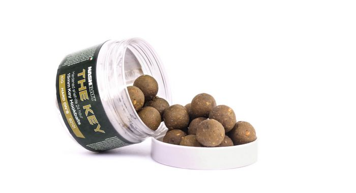 Nash The Key Hard On's Hardened Hookbaits 15mm