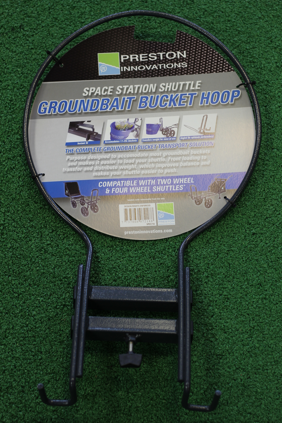 Preston Innovations Space Station Shuttle Groundbait Bucket Hoop
