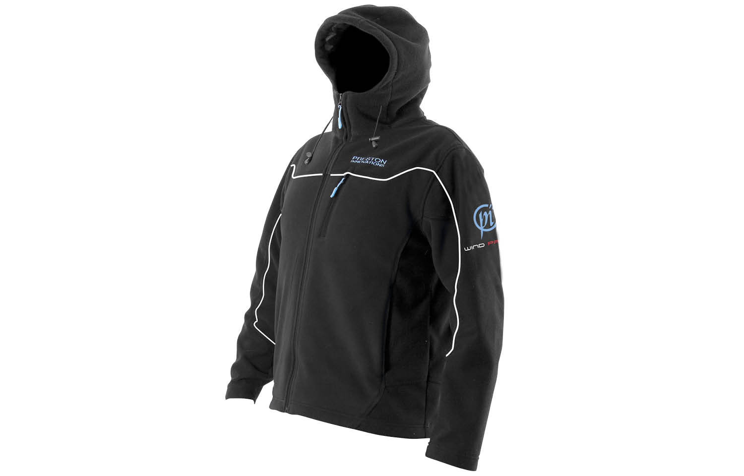 Preston Innovations Windproof Hooded Fleece Jacket