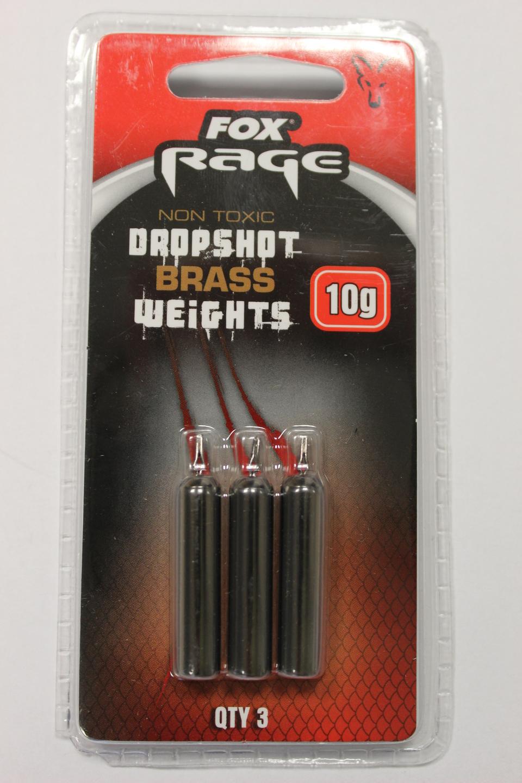 Fox Rage Brass Dropshot Weights