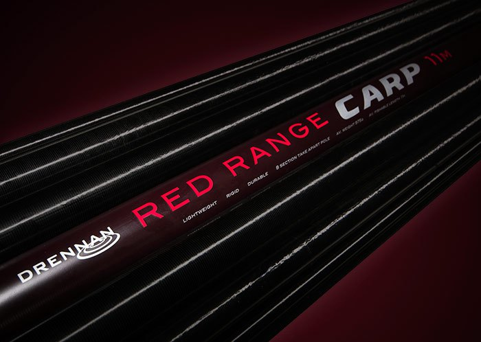Drennan Red Range Carp 11m Pole