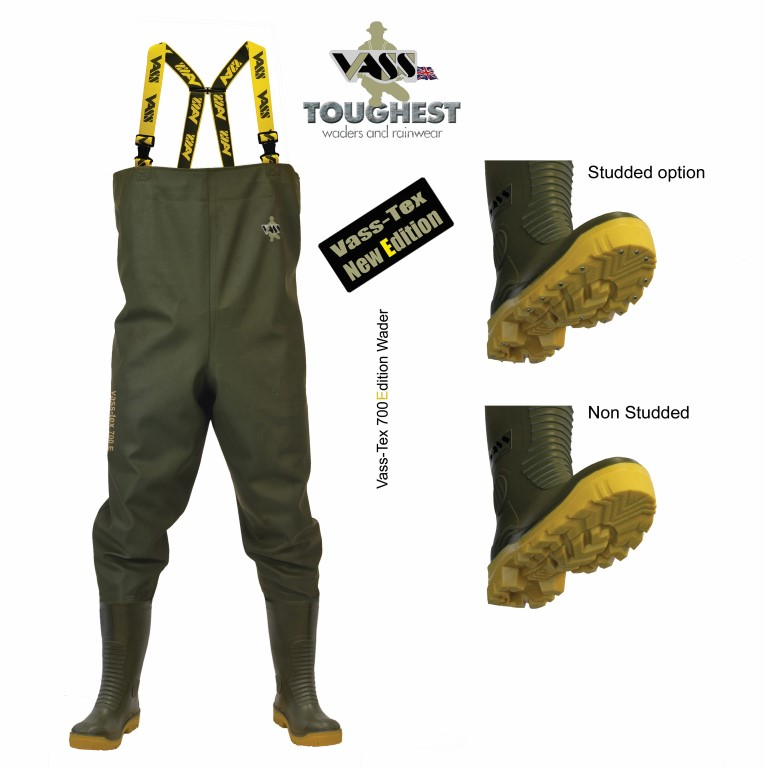 Vass – Tex 700E Nova Heavy Duty Chest Waders