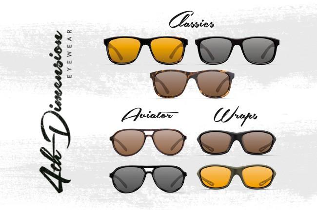 Korda 4th Dimension Polarising Glasses