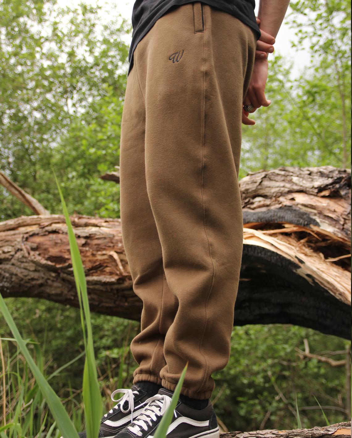 Wofte Clothing Khaki D-LO Joggers