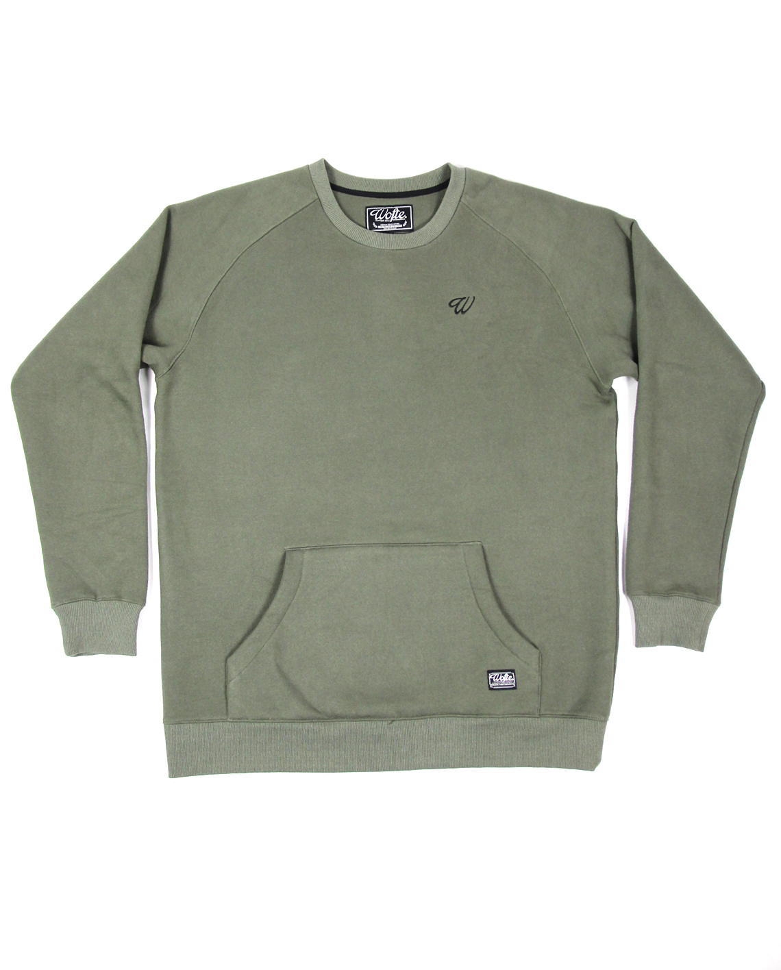 Wofte Clothing Olive D-LO Sweat
