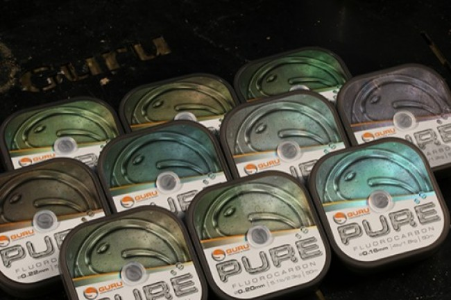 Guru Pure Fluorocarbon Hook Length 50m