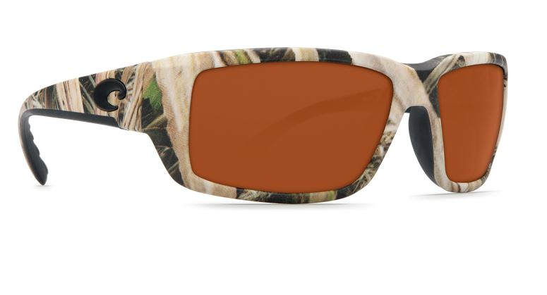 Costa Fantail Mossy Oak 580 Copper Glass Sunglasses