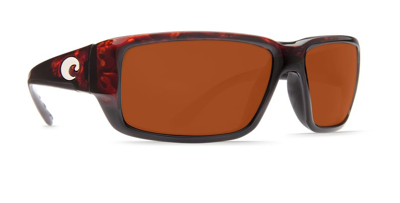 Costa Fantail Tortoise 580 Copper Sunglasses (Glass & Plastic)
