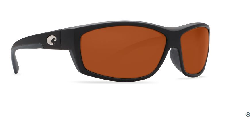 Costa Saltbreak Black 580 Copper Glass Sunglasses