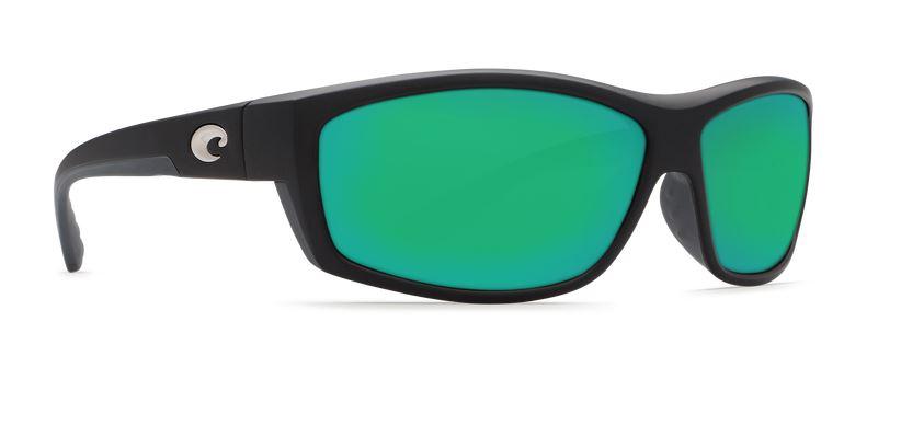 Costa Saltbreak Black 580 Green Glass Sunglasses