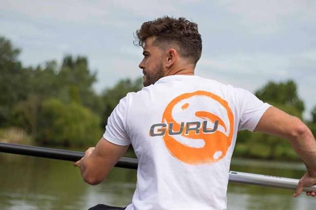 Guru Offset Logo T Shirt White