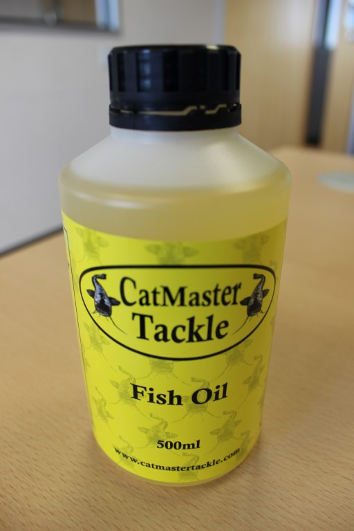 Catmaster Tackle Fish Oil 500ml
