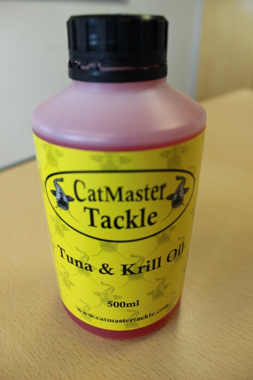 Catmaster Tackle Tuna & Krill Oil 500ml