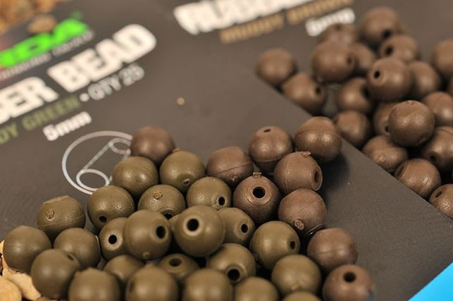 Korda Rubber Beads 4mm & 5mm