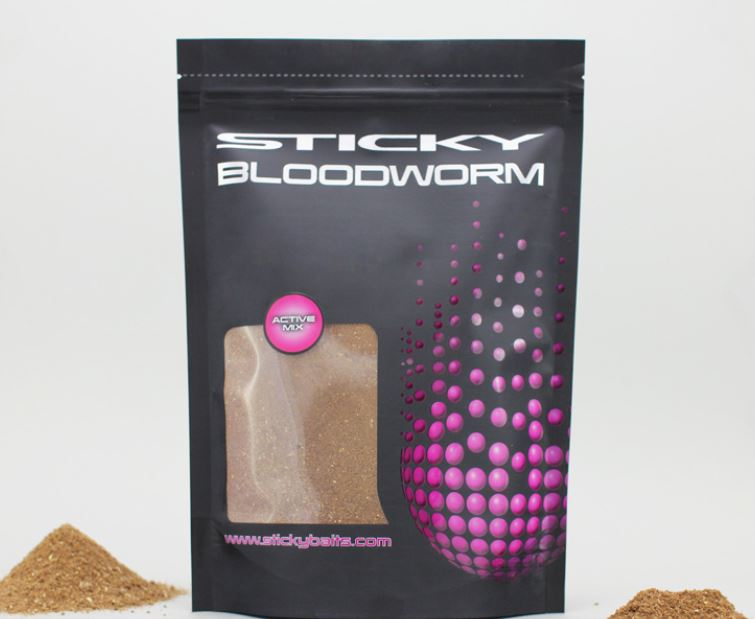 Sticky Baits Bloodworm Active Mix 900g