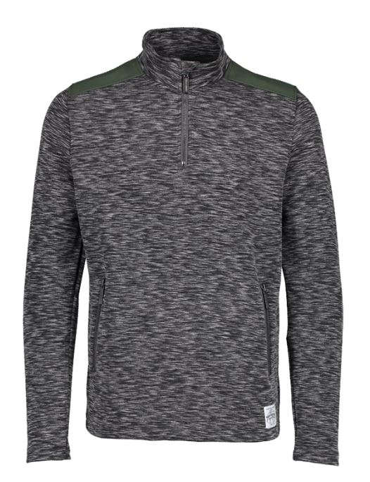 Aqua Products Funnel Neck Charcoal Mid Layer