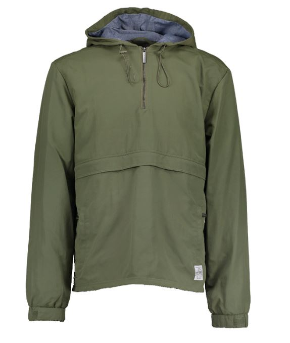 Aqua Products Half Zip Khaki Jacket