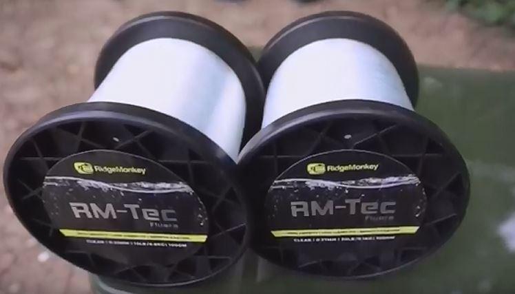 RidgeMonkey RM-Tec Fluoro Line