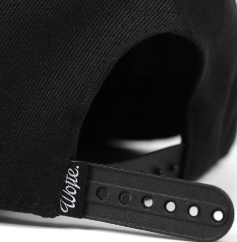 Wofte Clothing Allblax Snapback Cap