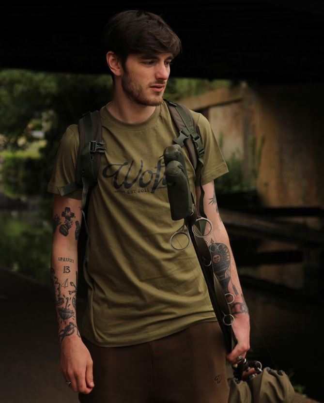 Wofte Clothing Est.11 Tee Shirt Olive Green