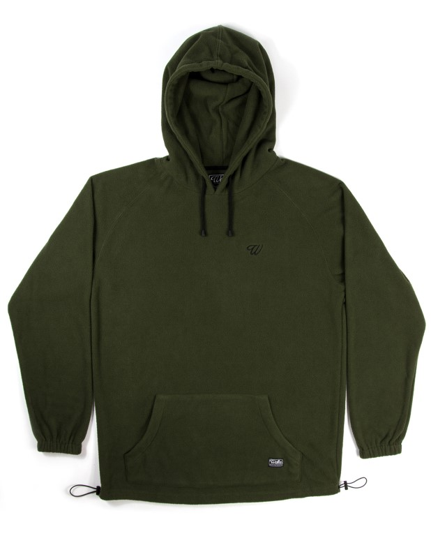 Wofte Clothing Olive Fleece Hoods