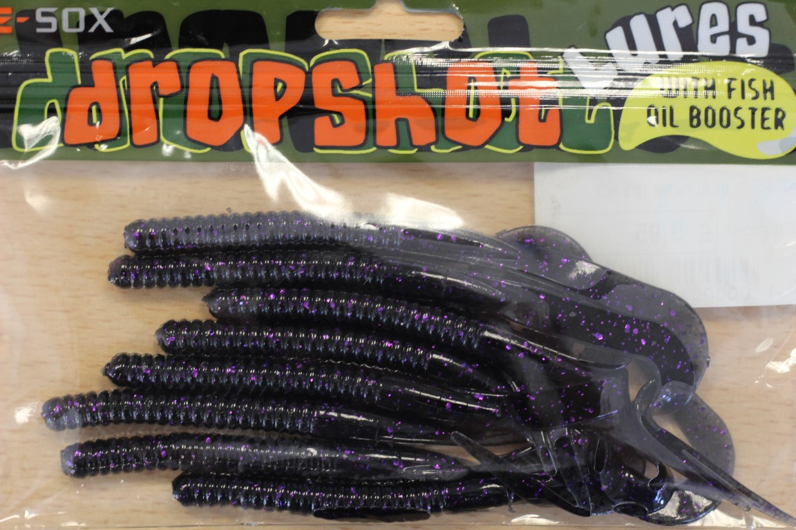 E-SOX Curly Worm Dropshot Lures (Various)