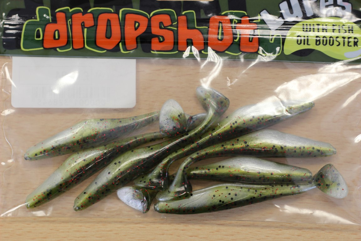 E-SOX Paddle Tail Dropshot Lures (Various)