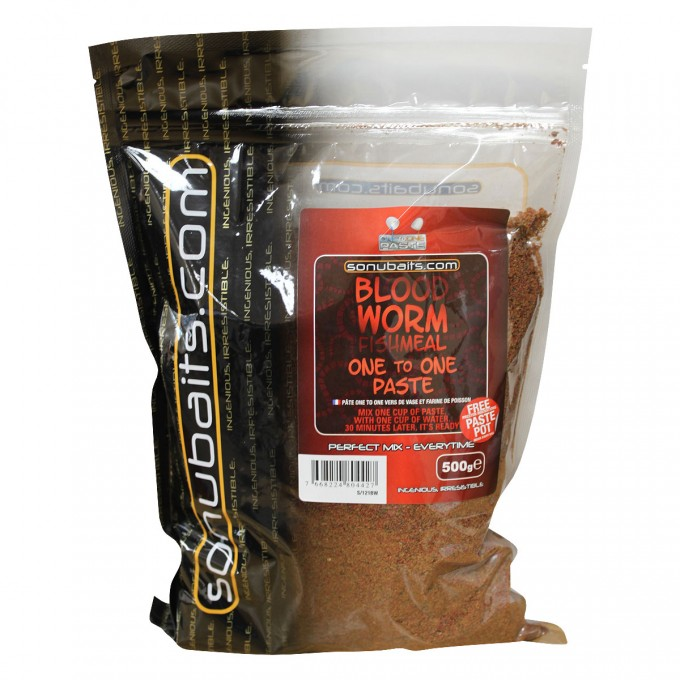 Sonubaits One To One Paste Bloodworm Fishmeal