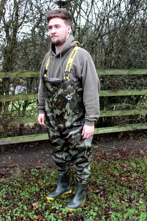 Vass Camo Chest Waders VC800-70E