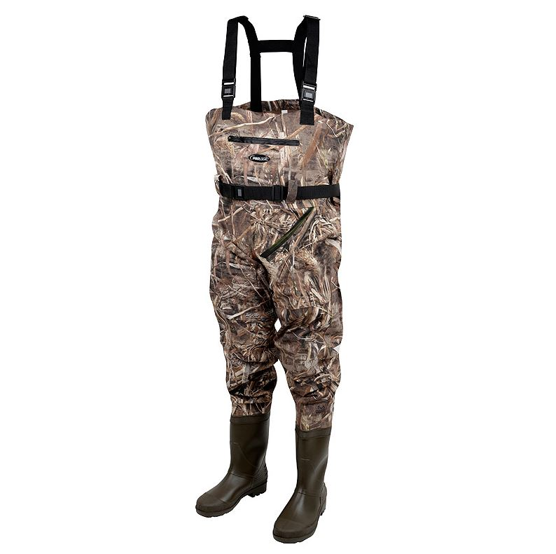 Prologic MAX5 Nylo-Stretch Chest Waders w/Cleated Sole