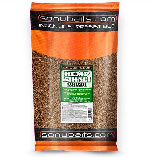 Sonubaits Hemp & Hali Crush Groundbait 2kg