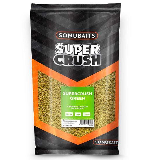 Sonubaits Supercrush Green Groundbait 2kg