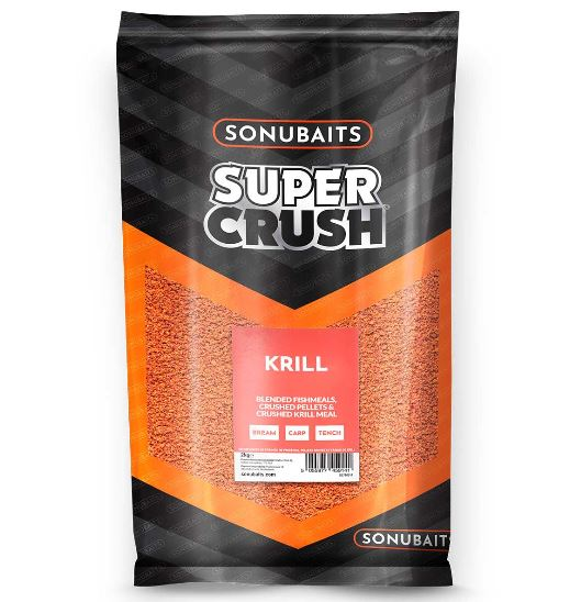 Sonubaits Supercrush Krill Groundbait 2kg