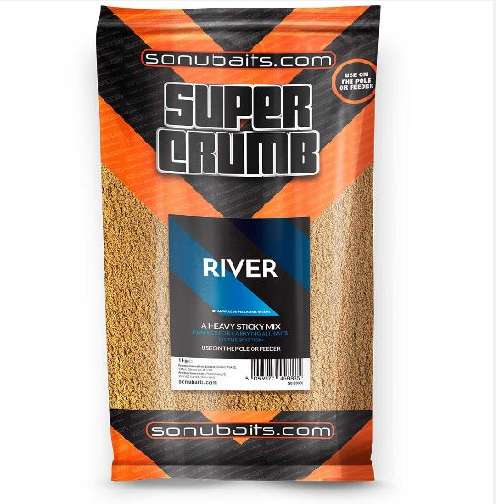 Sonubaits Supercrumb River Groundbait 1kg